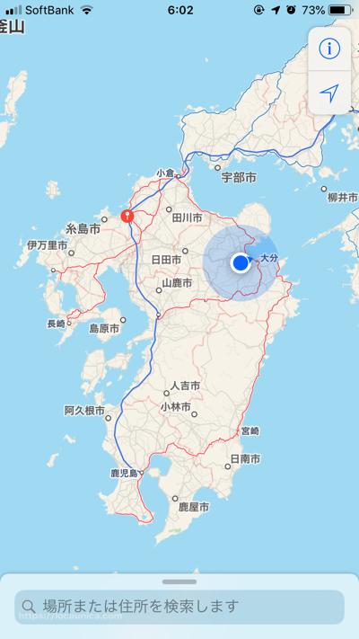 地図のスクショ画像