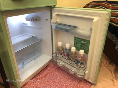 【KOMOREBI】テントの中の冷蔵庫の中
