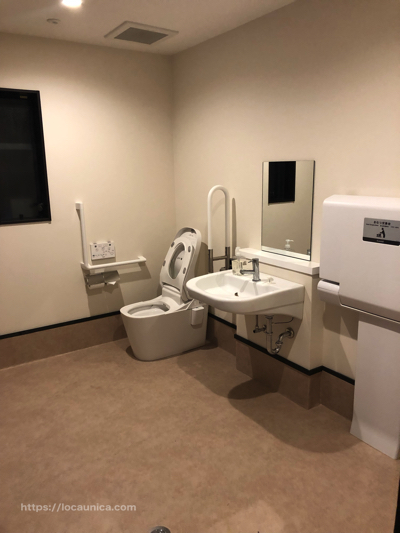 【KOMOREBI】多目的トイレ