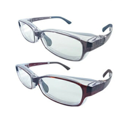 ゴーグルタイプのブルーライトカットメガネ(PCメガネ)
