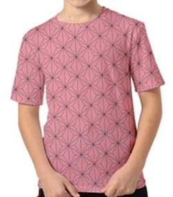 【鬼滅の刃】竈門 禰豆子(かまど ねずこ)・キッズTシャツ(ピンク)
