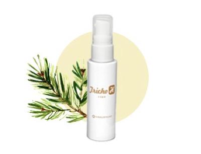 ②「トリカH(頭皮用美容液)」で髪と地肌に栄養と新ビタミンを届ける