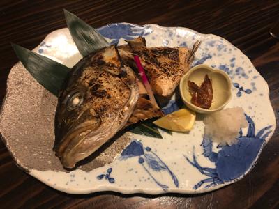 塚本鮮魚店・カンパチのカマ焼き
