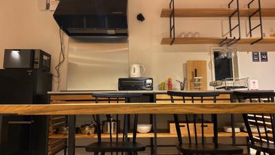 2階リビング・キッチン