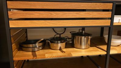 リビングのお鍋たち