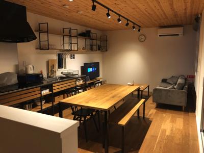 2階に上がるとテンション上がりまくり!!【Rakuten STAY HOUSE × WILL STYLE 糸島】リビング