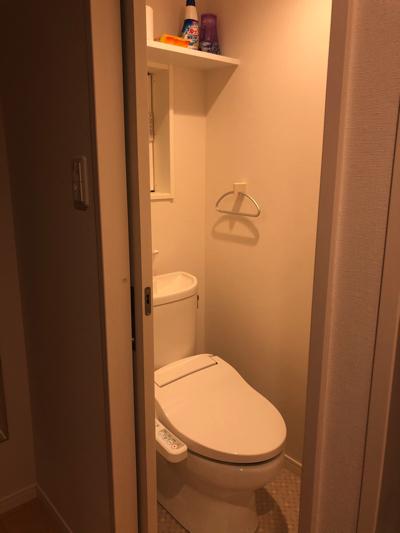 【Rakuten STAY HOUSE × WILL STYLE 糸島】玄関の奥にトイレ♪