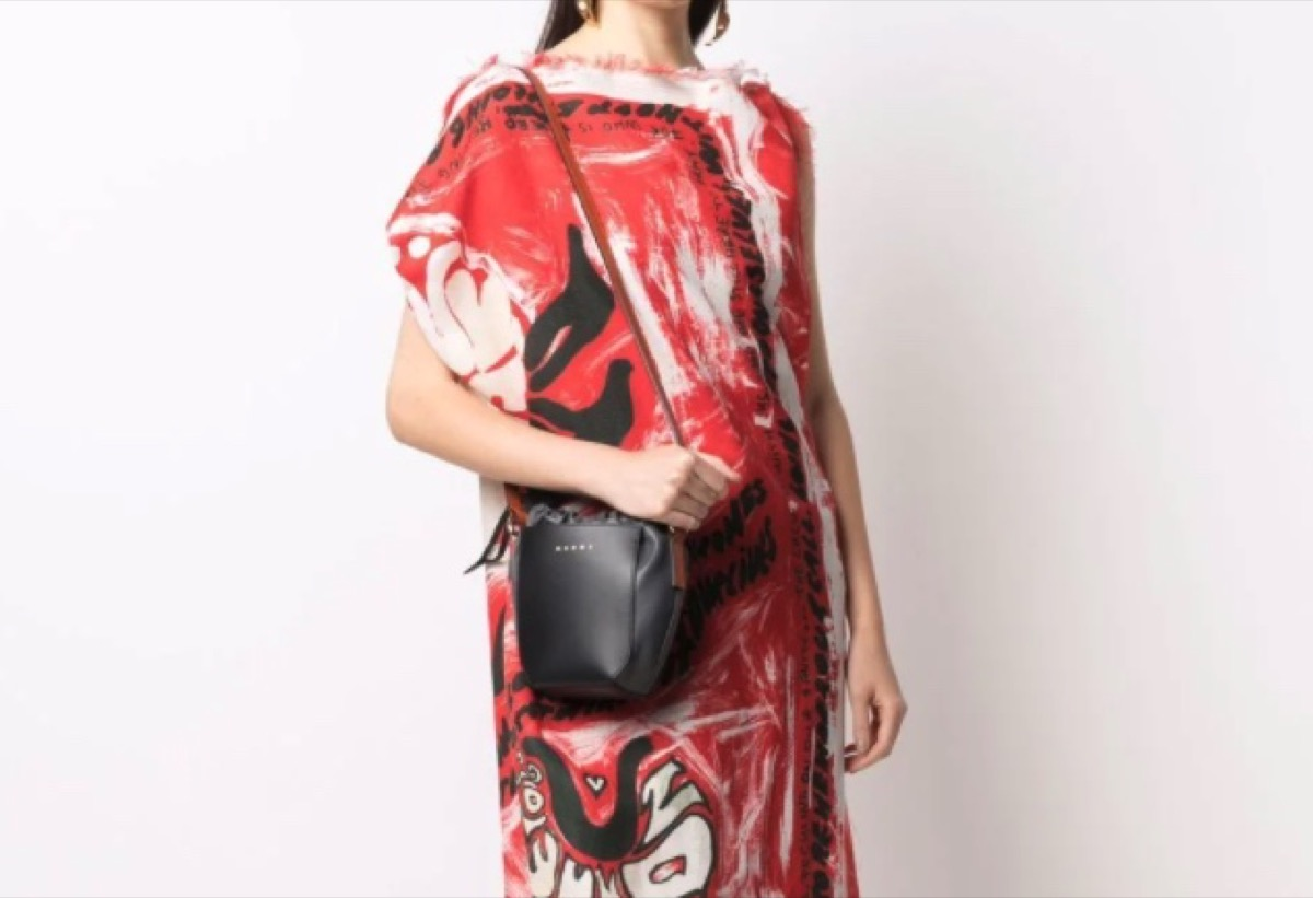 大人かわいいミニバッグ値段別まとめ♪Marni(マルニ)ロゴ ショルダーバッグ