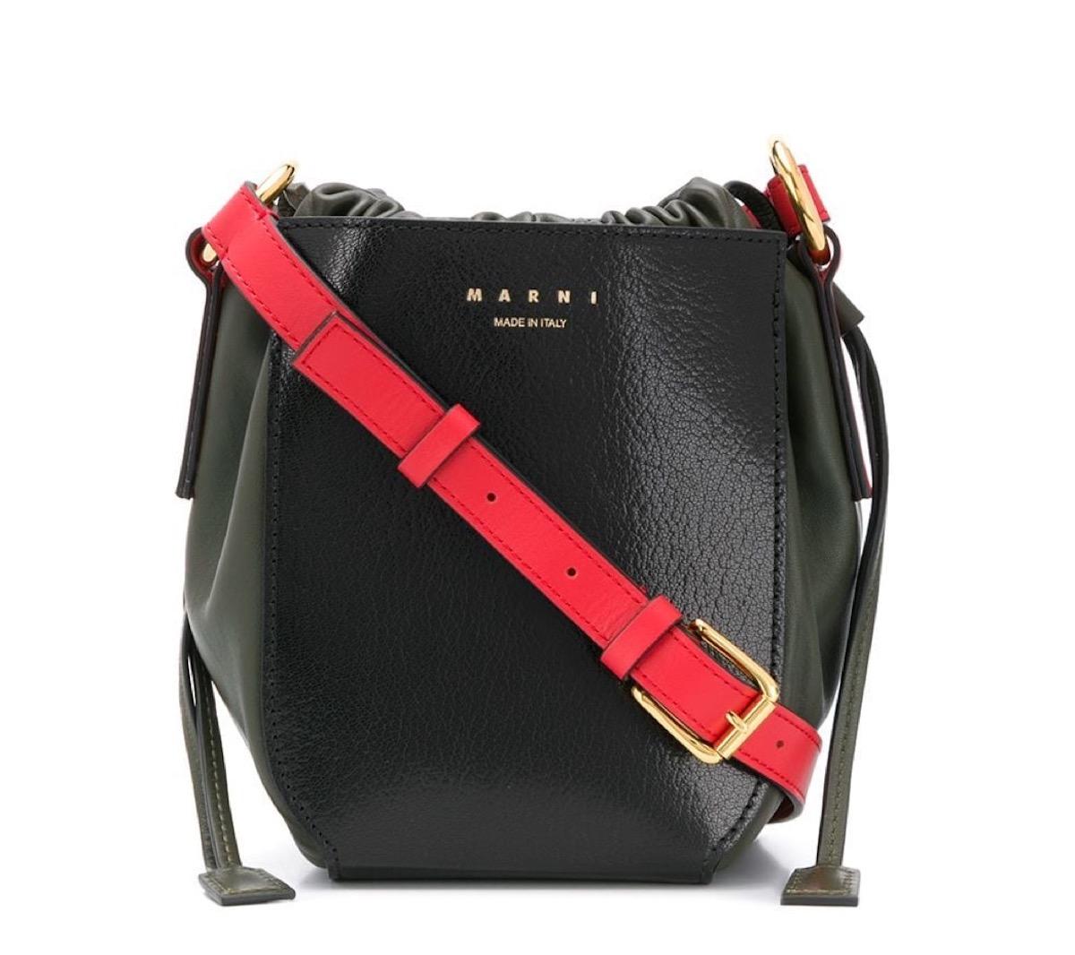 大人かわいいミニバッグ値段別まとめ♪Marni(マルニ)Gusset バケットバッグ